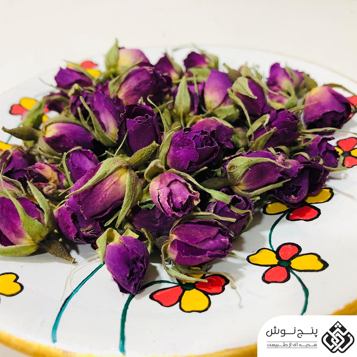 غنچه گل محمدی ارگانیک